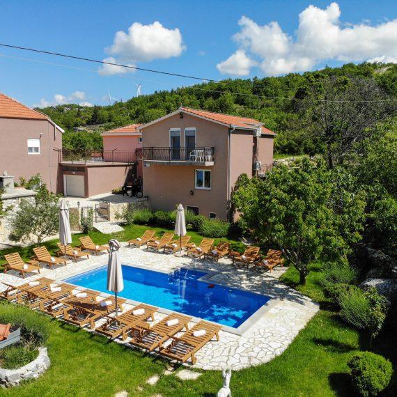Luxury holiday villa near Split